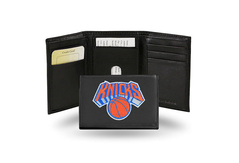 NBA New York Knicks Embroidered Tri-Fold / Wallet