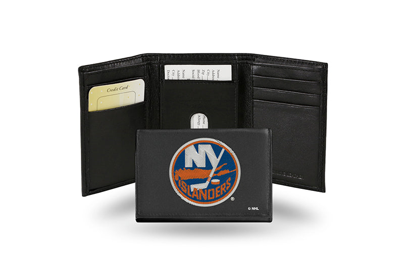 NHL New York Islanders Embroidered Tri-Fold / Wallet