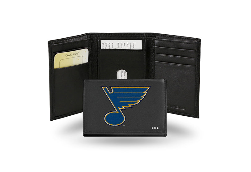 NHL St. Louis Blues Embroidered Tri-Fold / Wallet