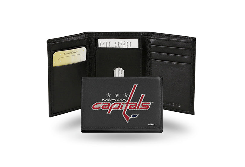 NHL Washington Capitals Embroidered Tri-Fold / Wallet