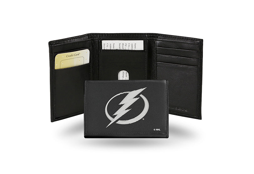 NHL Tampa Bay Lightning Embroidered Tri-Fold / Wallet