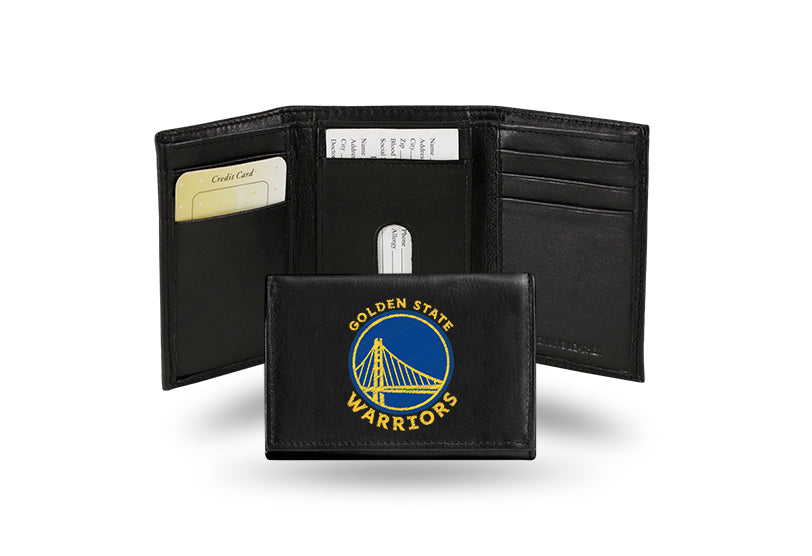 NBA Golden State Warriors Embroidered Tri-Fold / Wallet