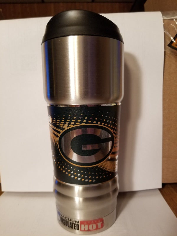 NEW!! NFL Green Bay Packers Vacuum Insulated Stainless Steel Tumbler