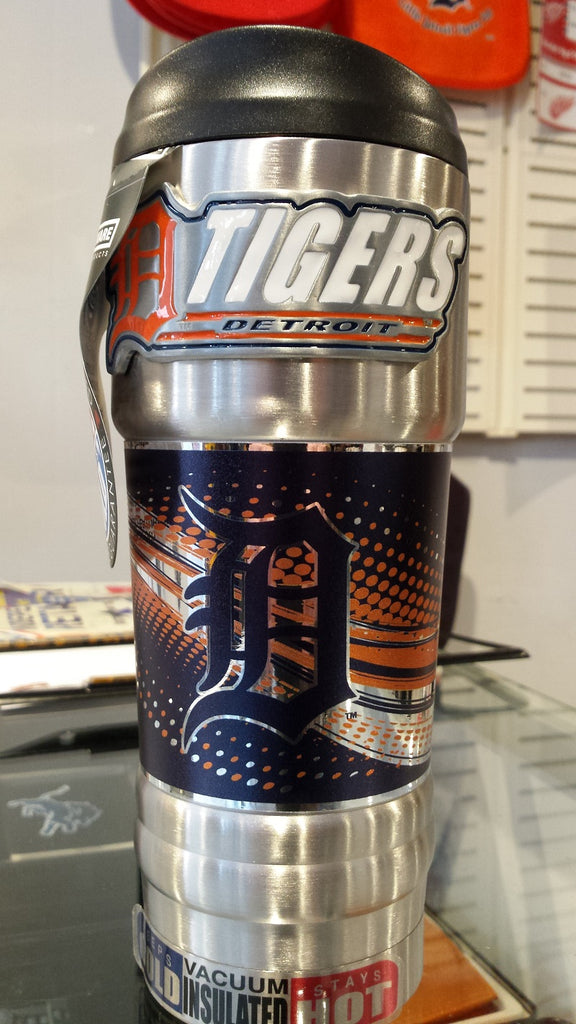 MLB Detroit Tigers Vacuum Insulated Stainless Steel Tumbler