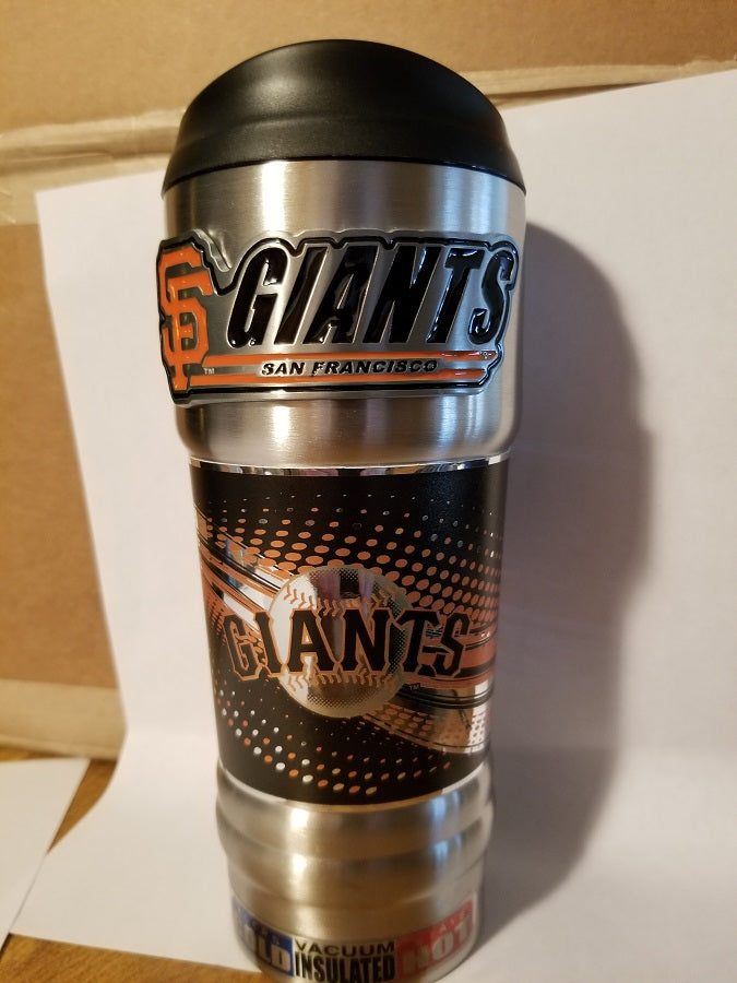 New!! MLB San Francisco Giants Vacuum Insulated Stainless Steel Tumbler