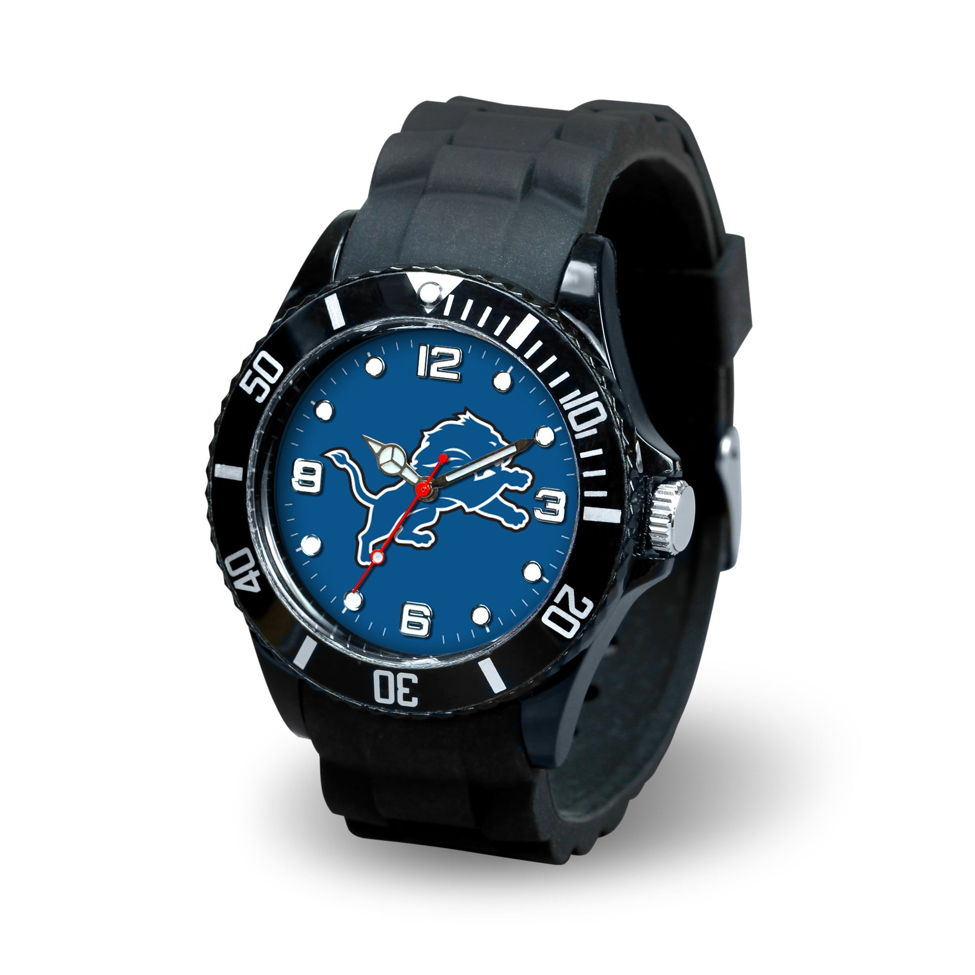 NFL Detroit Lions Men's Sparo Spirit Watch