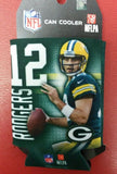 NFL Green Bay Packers Aaron Rodgers Can Holder / Can Coozie