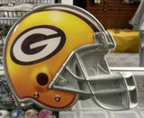 "NFL Green Bay Packers Metal Helmet Trailer Hitch Cover ( for 2"" hitch )"