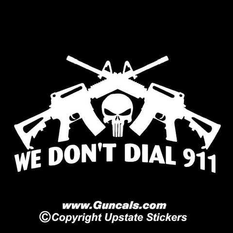 We dont dial 911 with crossed ar15s punisher skull funny gun we dont dial 911 with crossed ar15s punisher skull funny gun publicscrutiny Gallery