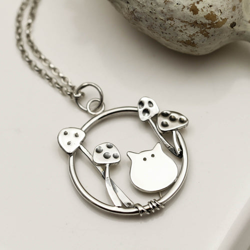 Fairytale Cat Necklace
