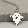 Sterling Silver Ghost Necklace