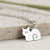 Sterling Silver Sitting Cat Necklace