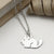 Sterling Silver Chinchilla Necklace