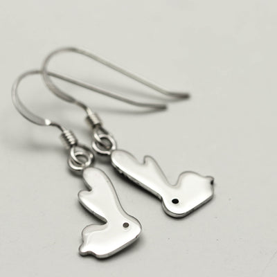 Sterling Silver Bunny Earrings