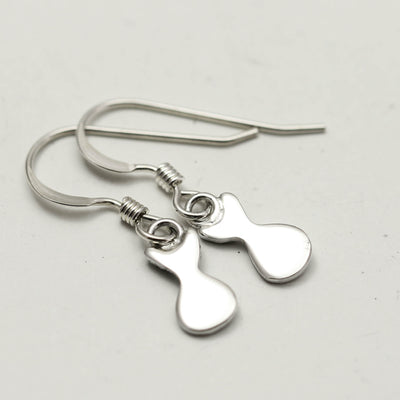 Sterling Silver Kitty Cat Earrings