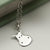 Sterling Silver Hippo Face Necklace
