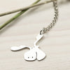 Handmade Sterling Silver Moose Necklace