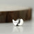 Sterling Silver Tiny Fox Pin Brooch