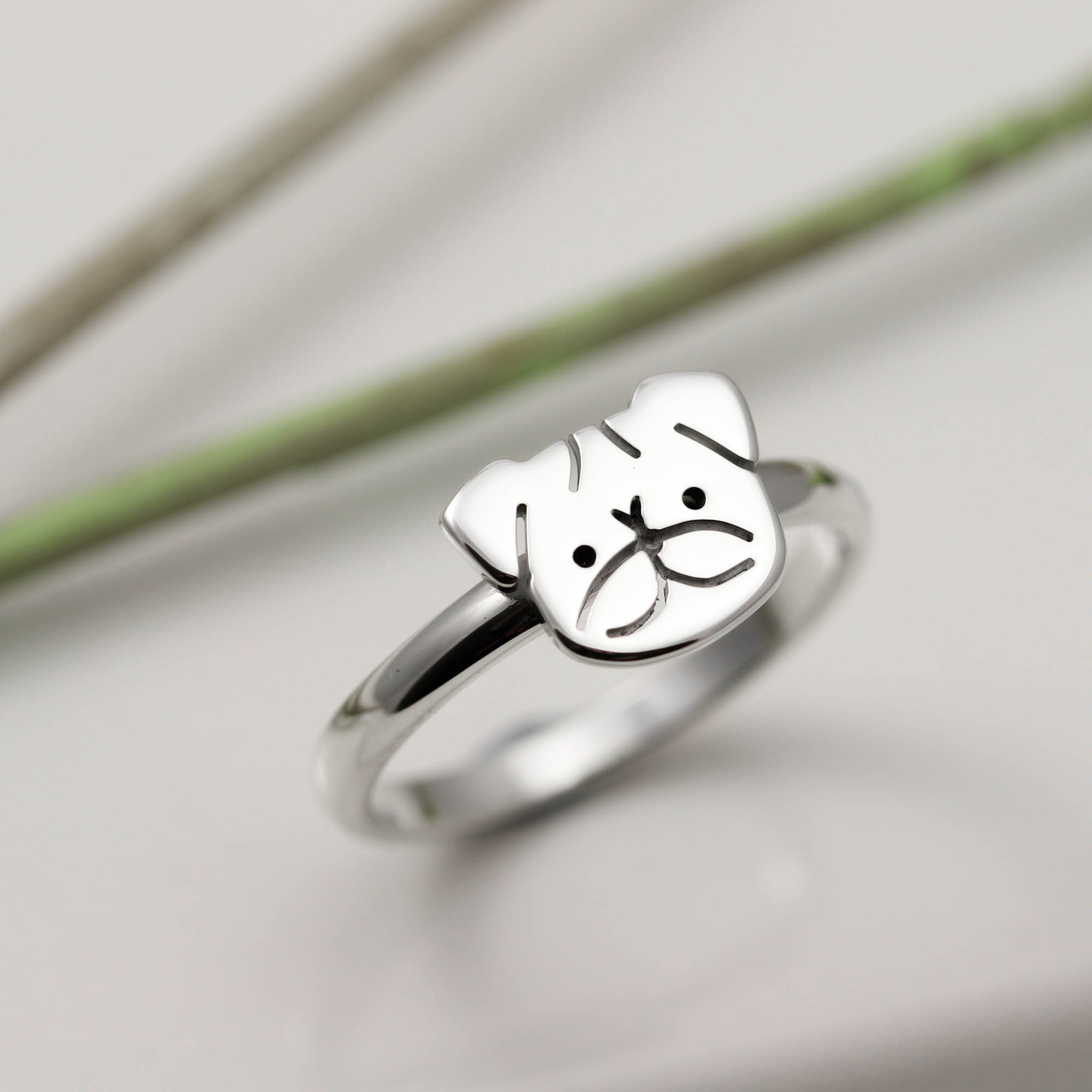 little bird lover lyst weiner rings erica fullscreen ring jewelry silver view