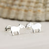 Sterling Silver Tapir Earrings