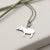Sterling Silver Tapir Necklace