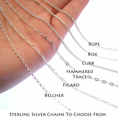 Jewellery FurKeeps Sterling Silver Chains