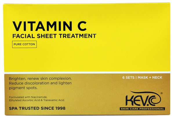 Vitamin C Facial Sheet Treatment