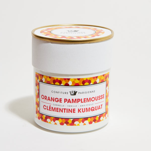 Confiture Parisienne - Orange Pamplemousse Clémentine Kumquat
