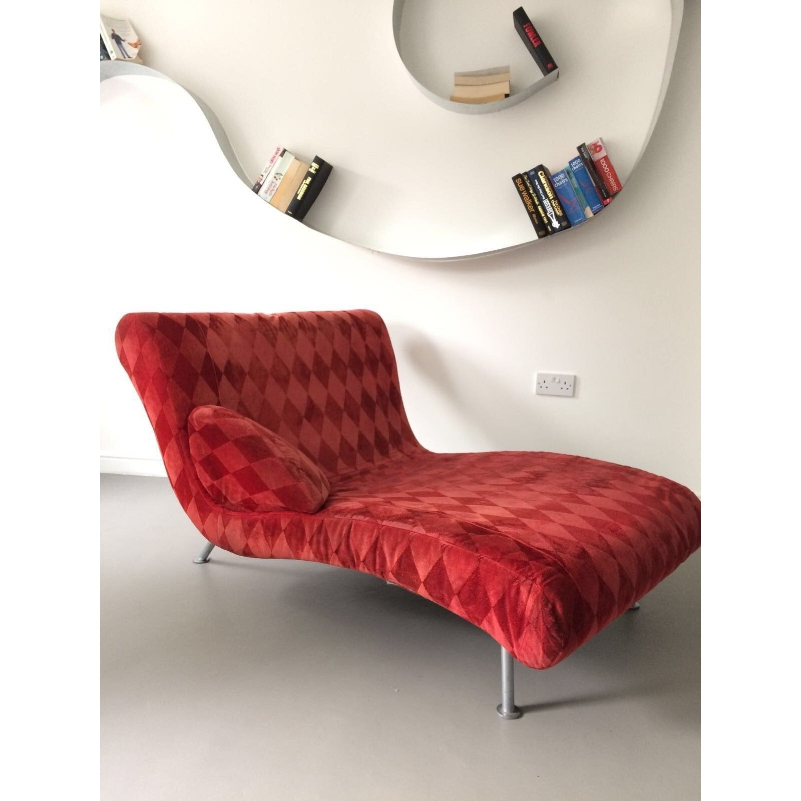 Modern Red Ligne Roset Lounge Chair  sc 1 st  Preloved : chaise lounge second hand - Sectionals, Sofas & Couches