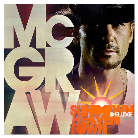 Tim McGraw 'Sundown Heaven Town' Deluxe CD