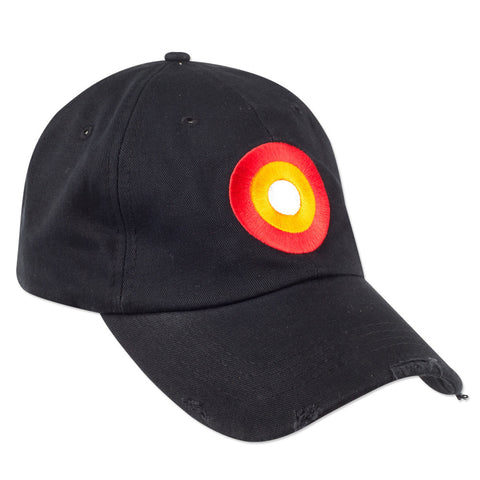 Shotgun Rider Logo Adjustable Black Cap