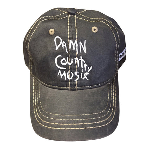 Damn Country Music Black Hat