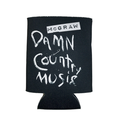 Damn Country Music Koozie