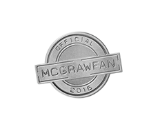 MCGRAWFAN Lapel Pin