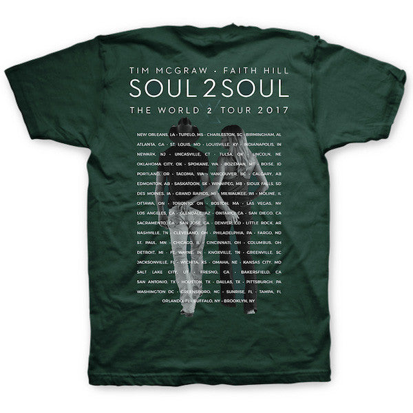 Soul2Soul Tour Teal T-Shirt