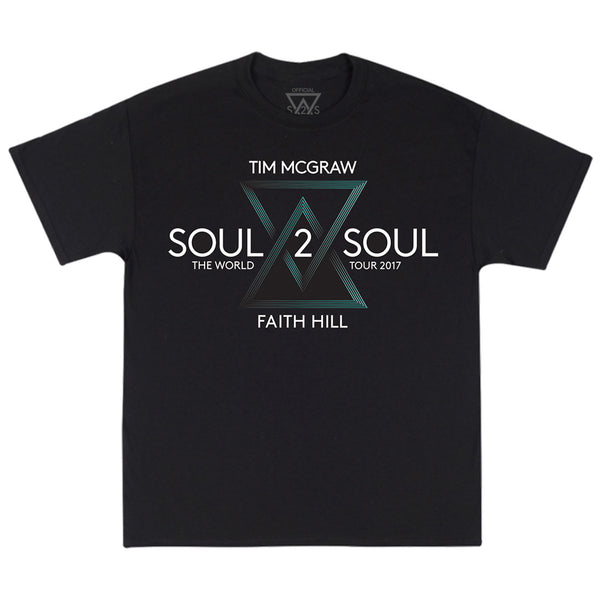 Soul2Soul World Tour 2017 T-Shirt