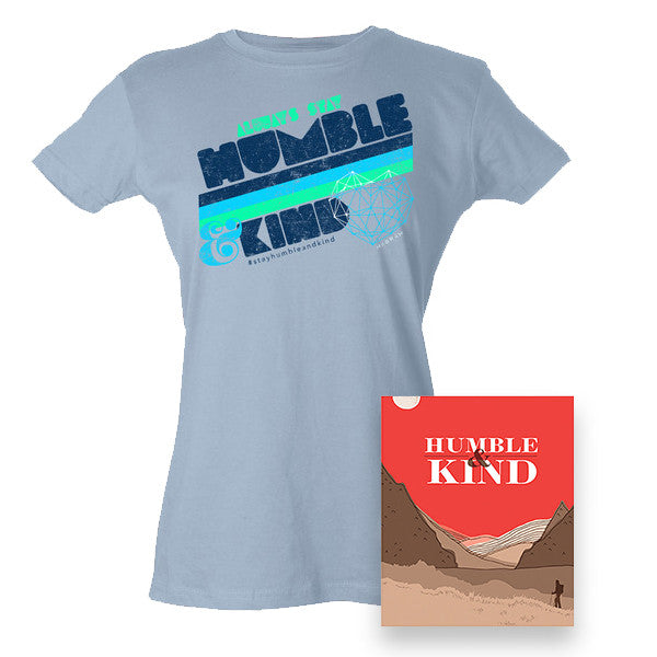 Humble & Kind Book and Ladies T-shirt