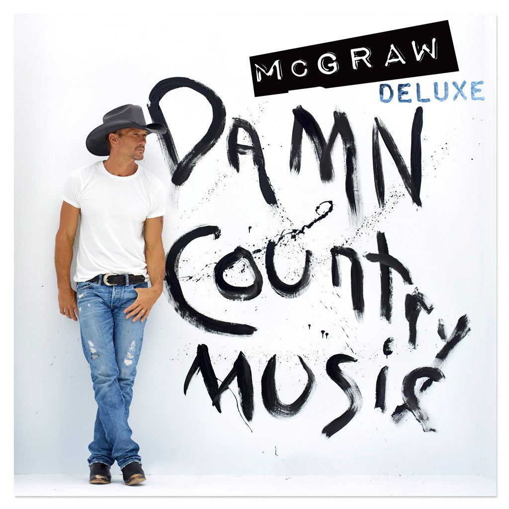 Tim McGraw 'Damn Country Music' Deluxe CD