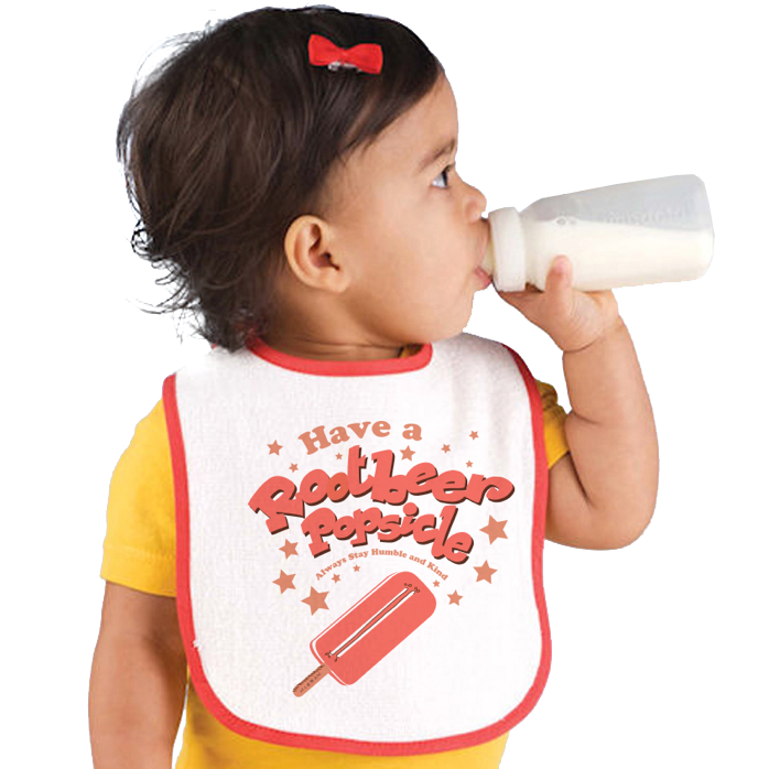 McGraw Rootbeer Popsicle Bib