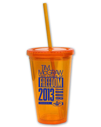 Two Lanes of Freedom Tumbler