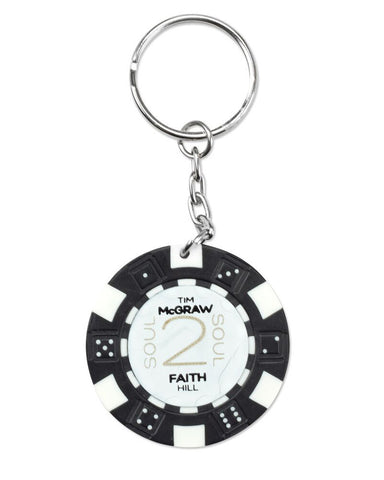 Soul2Soul Poker Chip Key Chain