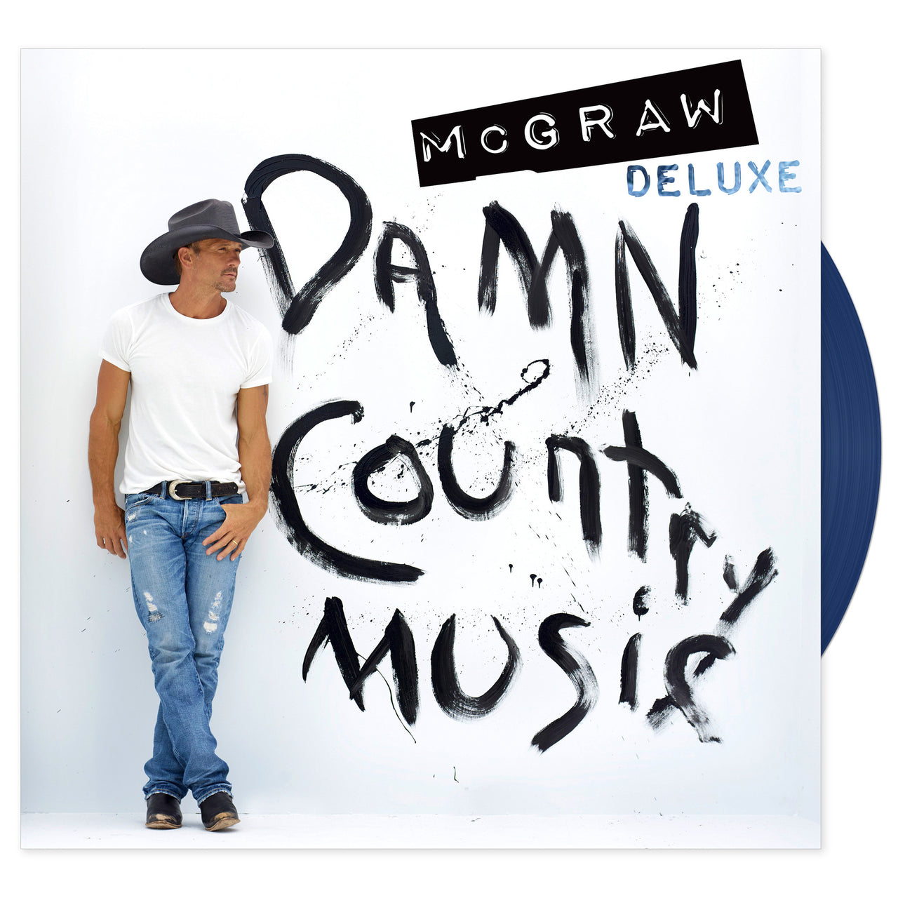 Tim McGraw 'Damn Country Music' Deluxe Vinyl Record