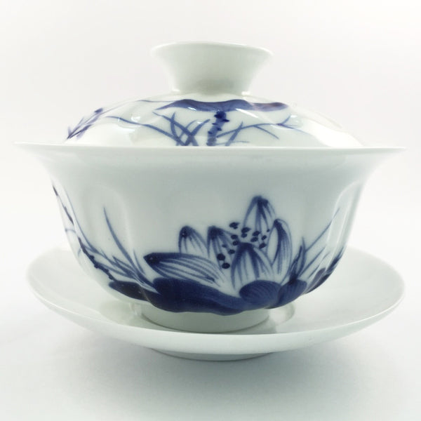 Blue and white porcelain gaiwan *ONLY 2 left!