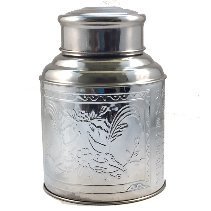 Traditional stainless-steel container (100g)