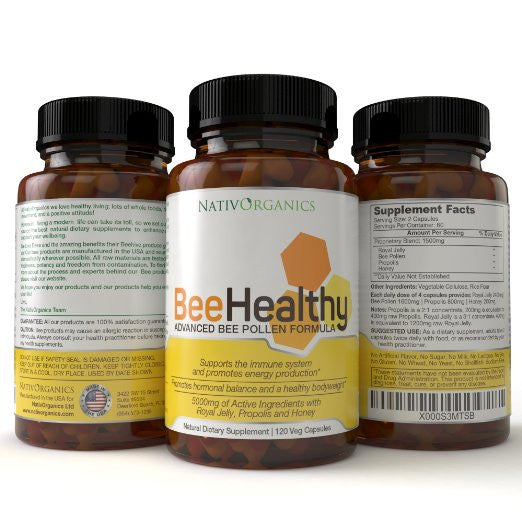 BeeHealthy - Advanced Bee Pollen Formula