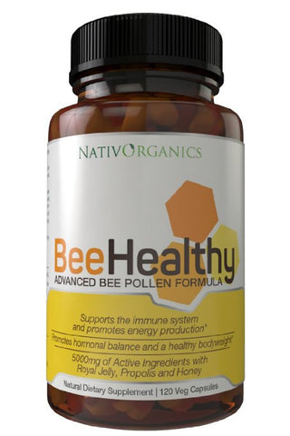 BeeHealthy - Advanced Bee Pollen Formula with Royal Jelly Bee Pollen Propolis