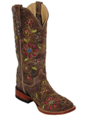 Blossom Brown Boot