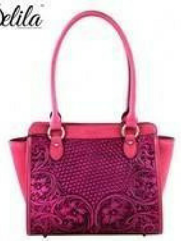 Delila 100% Genuine Leather Tooled Collection