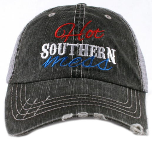 Hot Southern Mess Trucker Hat