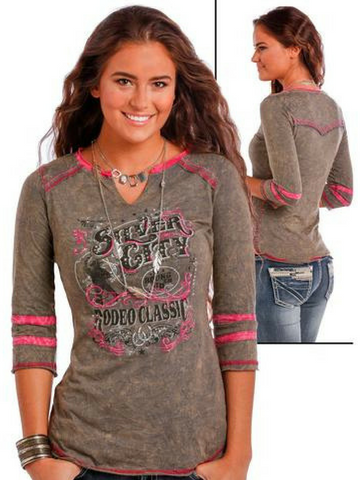 Silver City Rodeo Long Sleeve Shirt